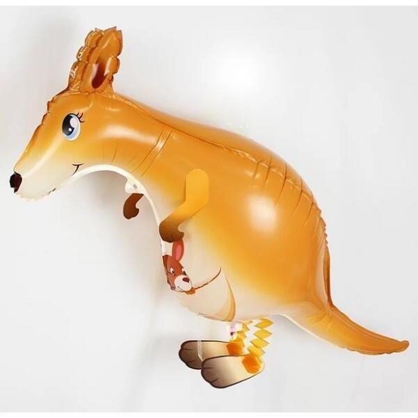Animal Kids Walking Foil Pet Balloon Helium Party Birthday Decor New Toy