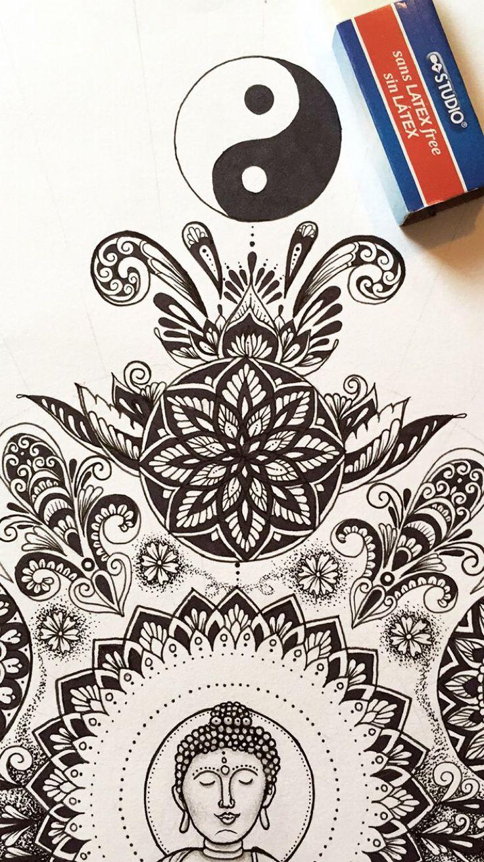 Freehand ink drawing by @samschroederart | INSTAGRAM: samschroeds