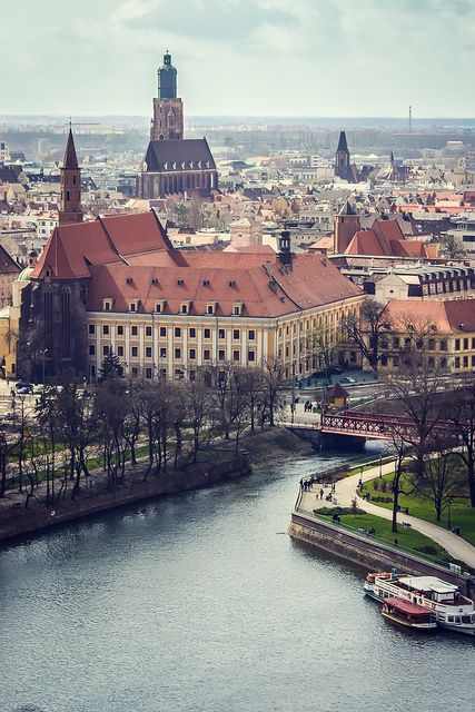 Krakow, Poland. Would love to go see the country of my heritage.