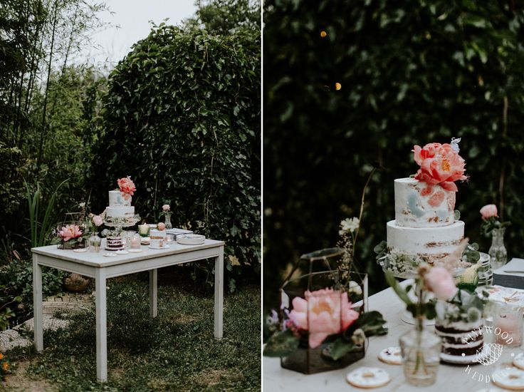 dessert table / boho wedding