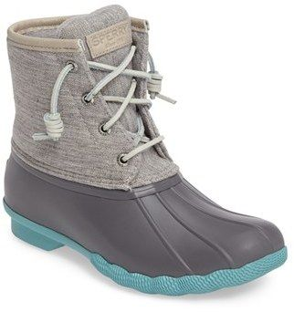 Not that I'll need these in Florida but they are cute! Women's Sperry 'Saltwater' Duck Boot