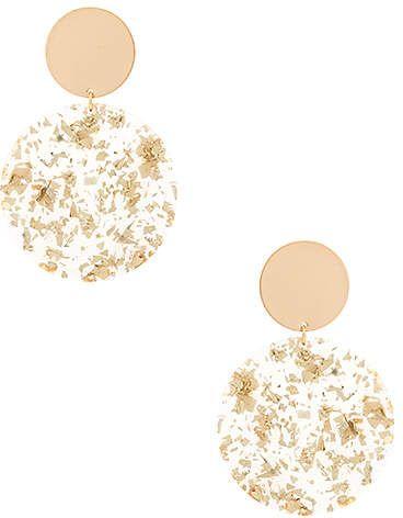 616dc1f59 Ettika Double Circle Drop Earrings. Ettika Double Circle Drop Earrings Gold  Gold, Metallic ...