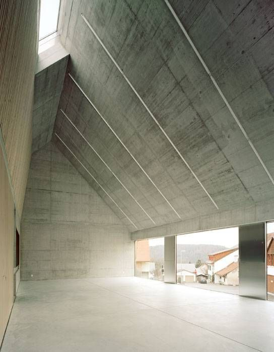 125 best concrete interior design images on Pinterest | Architecture,  Bathing and Facades