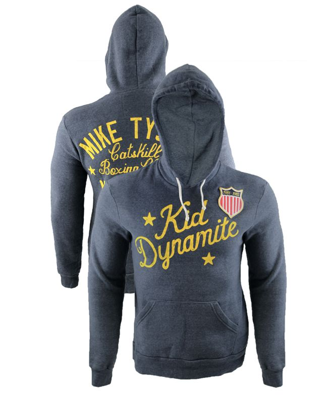 MMA Overload - Roots of Fight Mike Tyson Kid Dynamite Pullover Hoodie, $69.94 (http://www.mmaoverload.com/products/roots-of-fight-mike-tyson-kid-dynamite-pullover-hoodie.html)