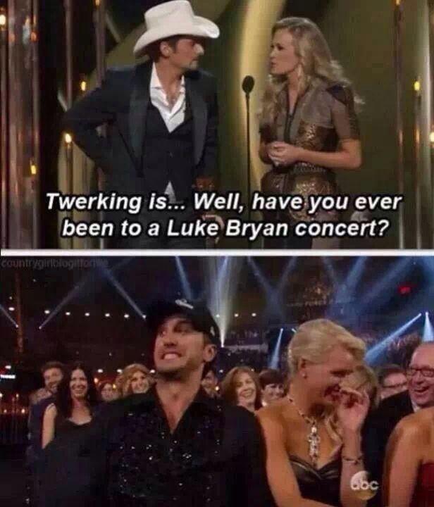Oh Luke Bryan...