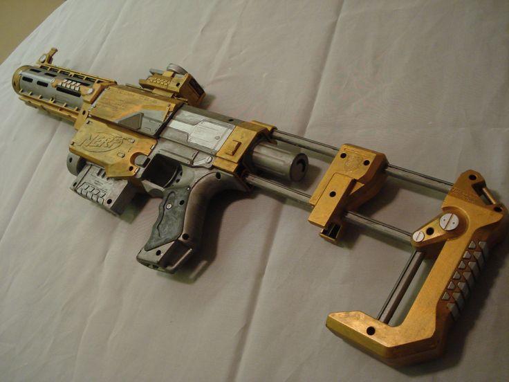 Nerf Gun Prop - Nerf Recon CS6 Detail Shot 2 by MirrorMask.deviantart.com on @deviantART