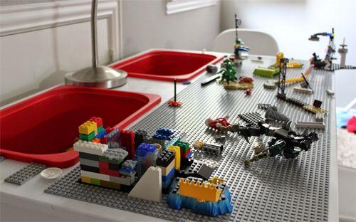 Mesa DIY para LEGO