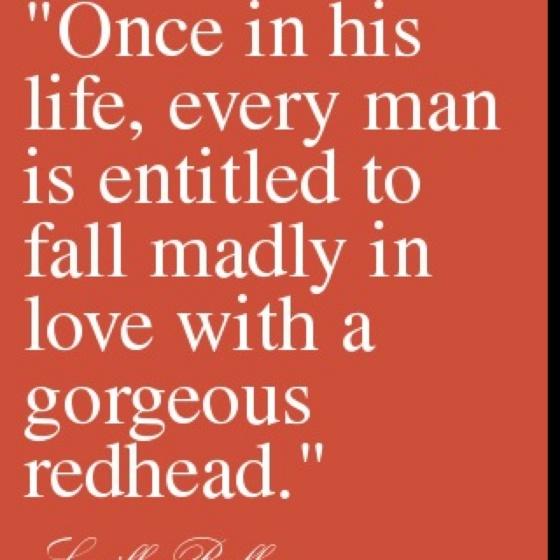 Redheads. :)