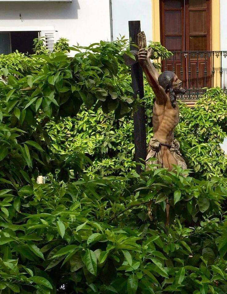 El Cachorro entre naranjos, Sevilla