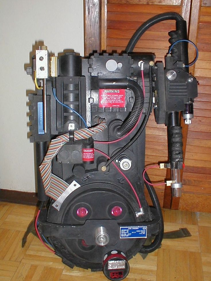 Be A Ghostbuster For Halloween Proton Pack Ghost