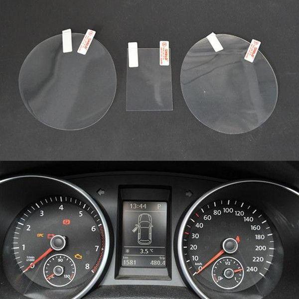 Tablero de instrumentos del coche de la película protectora calcomanías para automóviles decorativos para el Volkswagen Golf GTI 6 r20