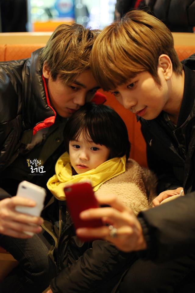 So cute :) Mir, Leo, G.O :)