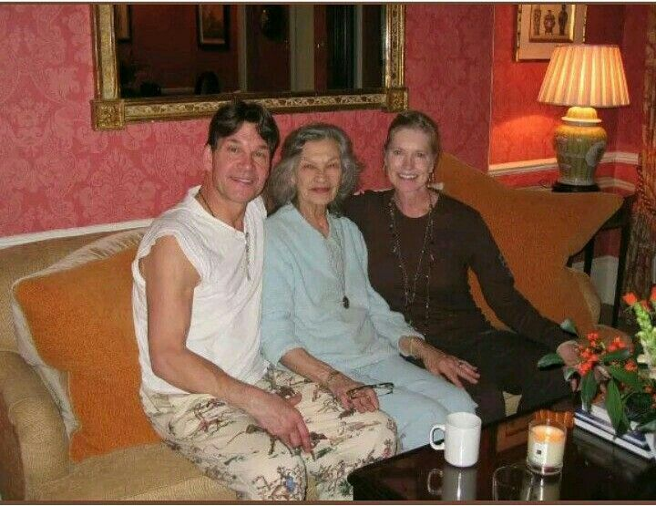 Patrick Swayze, and his wife Lisa Niemi and his mom Patsy