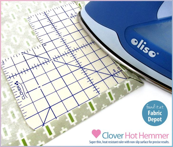 Products We Love: The Clover Hot Hemmer from Fabric Depot