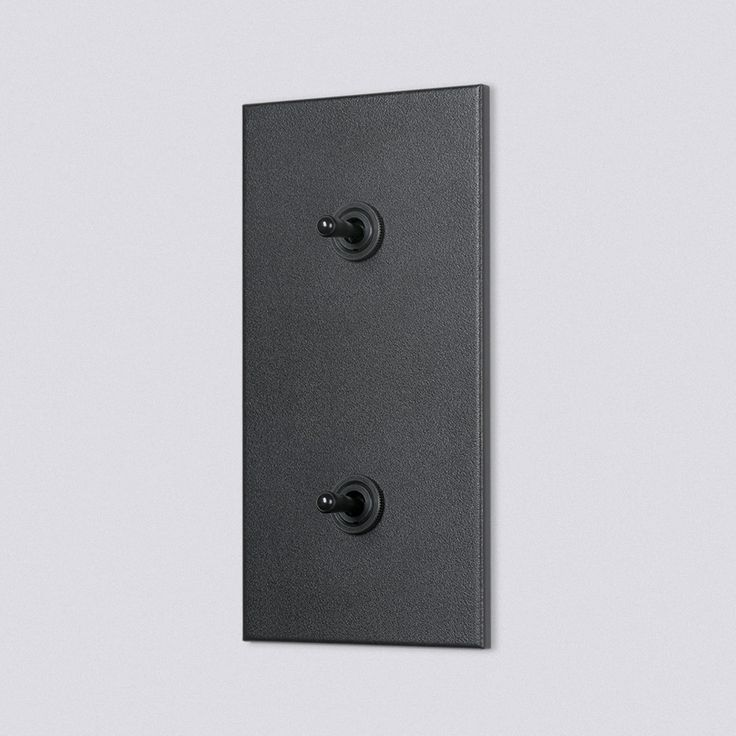 Belgian designed and produced durable light switch by Fitch+Switch
