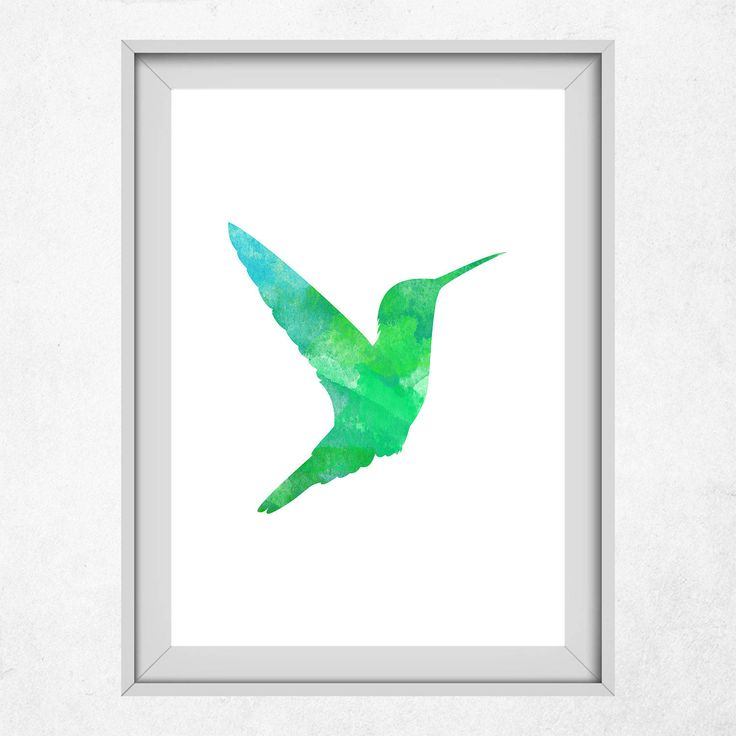 Green Hummingbird Decor, Nursery Animal Art, Hummingbird Wall Art, Green Nursery Art, Printable Artwork, Neutral Decor, Hummingbird Prints by DigitalSpot on Etsy