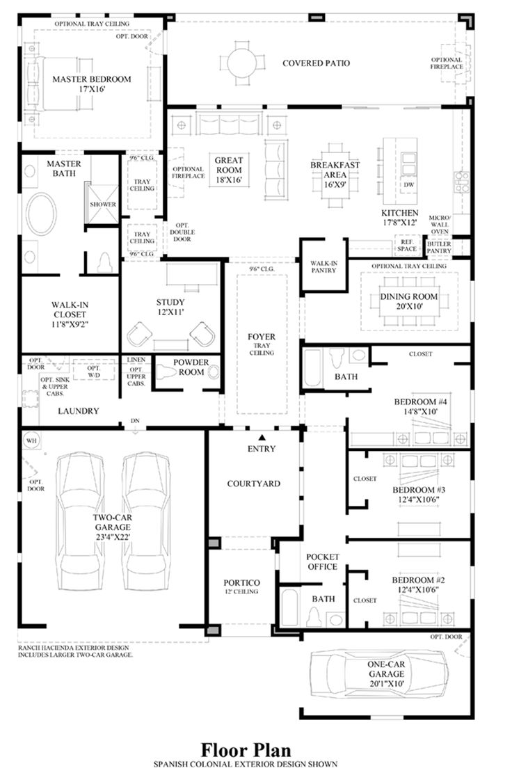 15 best Floorplans images on Pinterest | Toll brothers, Floor plans ...
