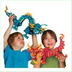 Bloco Aqua and Pyro Dragons Set Green Ant Toys Online