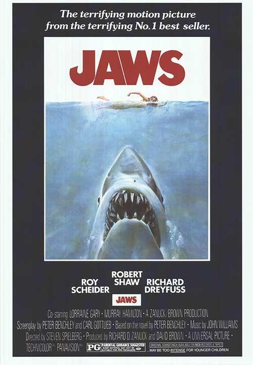 Dinge en Goete (Things and Stuff): This Day in History: Jun 20, 1975: Jaws released