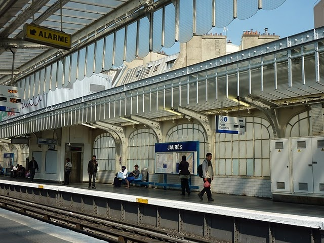 "station ""Jaurès"""