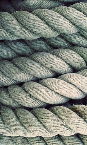 texture, I like that just by looking at this I know what the rope feels like
