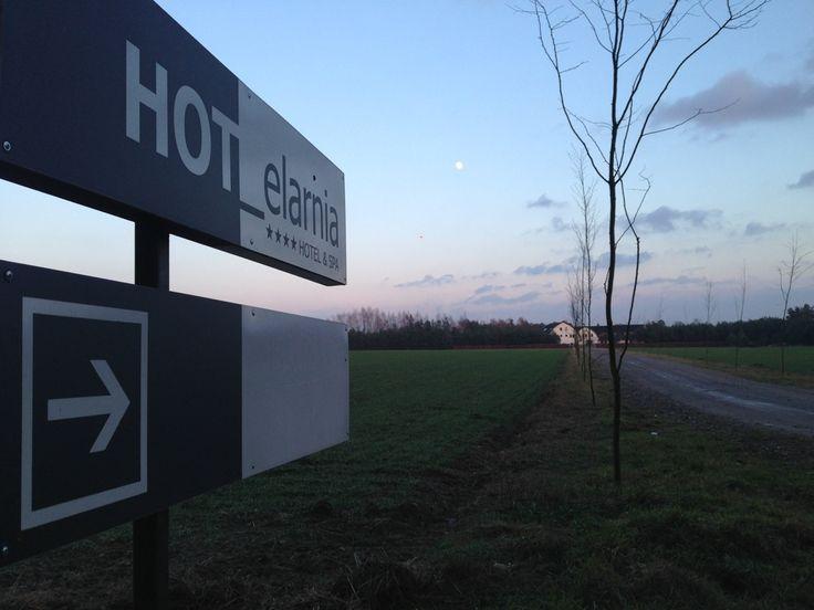 direction to hotelarnia #hotelarnia #hotel #night #design # sunset