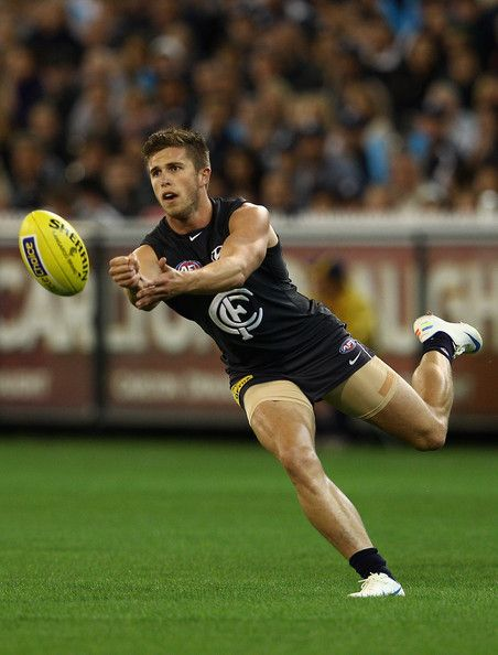 Marc Murphy from the Carlton Blues