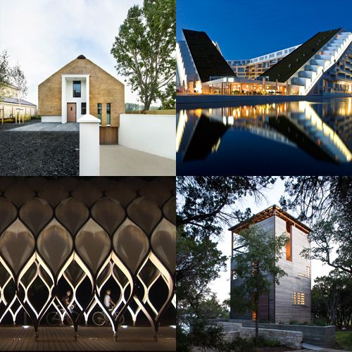 Among the ArchDaily archives for this week are BIG's impressive 8 House, a haystack house in the netherlands, the tortoise shell inspired pavilion in