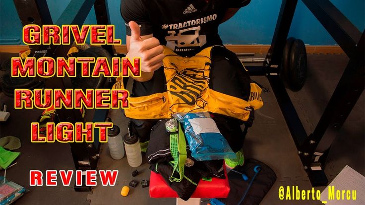 Mochila trai running Grivel Mountain runner light | review