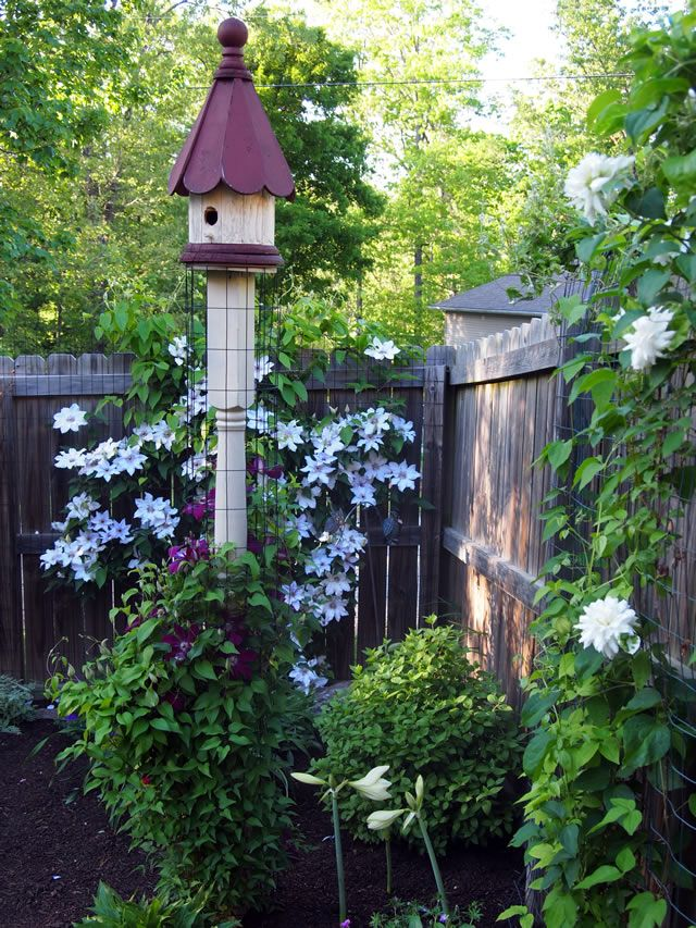 Beyond The Hostas. Birdhouse PostBirdhousesGardening MagazinesGarden ...