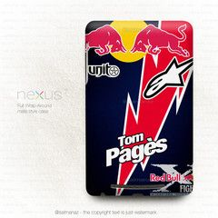 Thomas Pagès Tom Pages Red Bull X-Fighters Motocross Freestyle Asus Google Nexus 7 Case