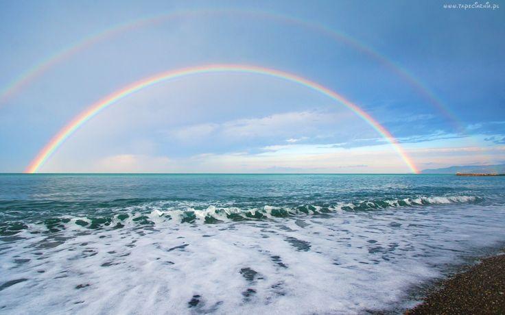Morze, Tęcza