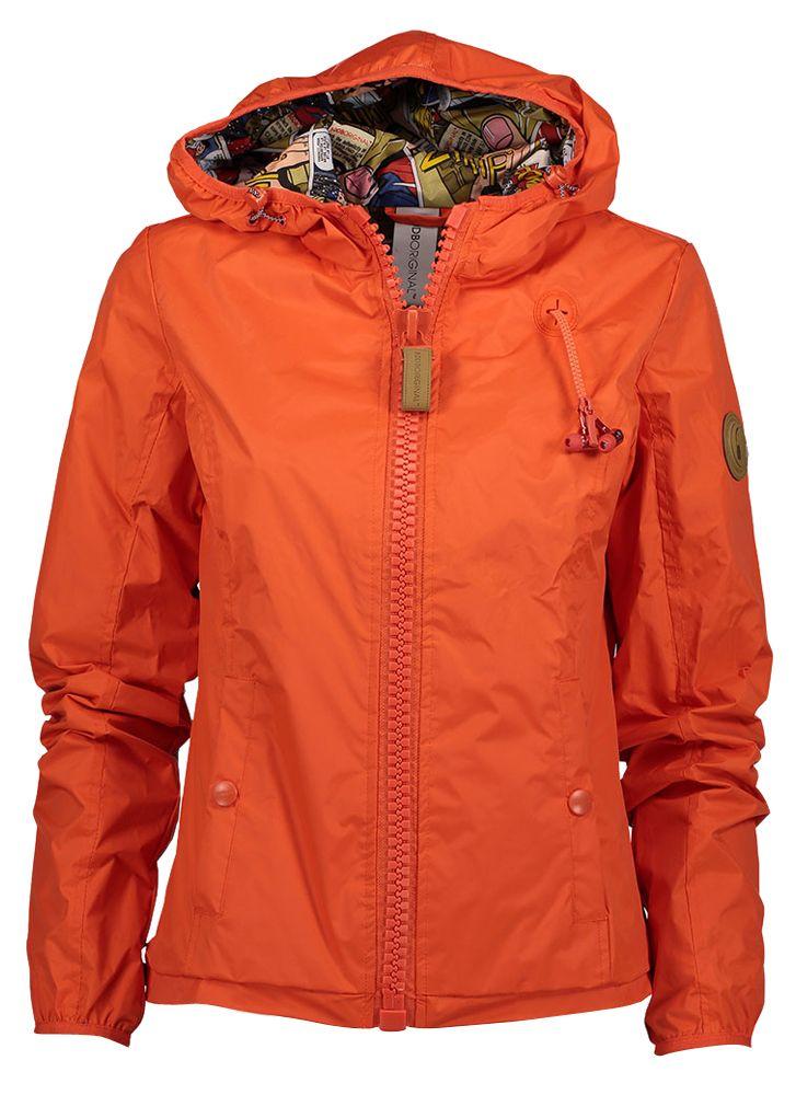 Oranje jas 80db original online bij Deleye.be & BeKult orange jacket with hoodie coat
