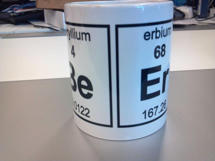 Beryllium + erbium = Beer: Periodic Charts