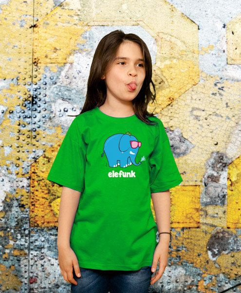 Elefunk Funny TShirt Kids Gift Young Boys T shirt by store365