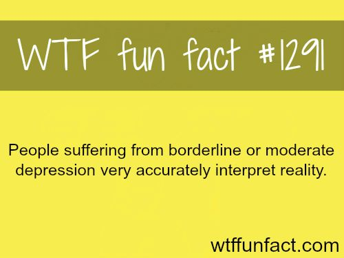 MORE OF WTF FACTS are coming HERE Depression, movies, history and fun facts