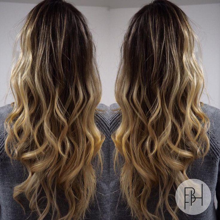 Barvení vyplněné v technice balayage a ozónové ošetření vlasů 🍃 Zamilujte si své...