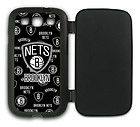 For Sale - NBA Basketball Brooklyn Nets Samsung Galaxy S3 Case w/Flip Cover Q140201