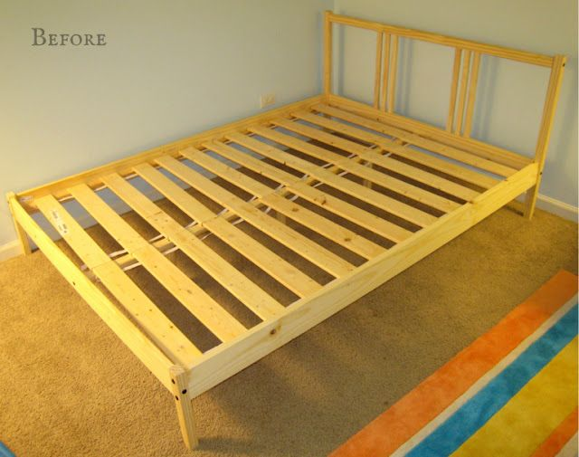 this is the fjellse full bed from ikea this link is to a hack that