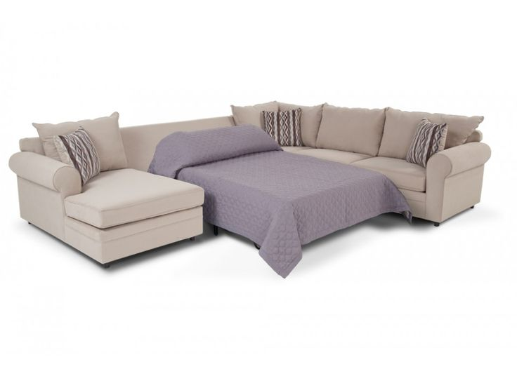 Venus 4 Piece Right Arm Facing Innerspring Sleeper Sectional