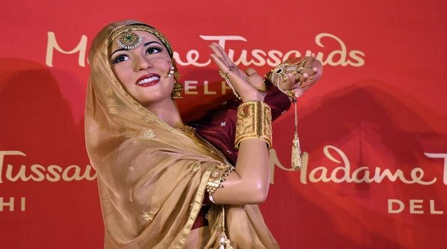 Madhubala's wax statue unveiled at Madame Tussauds in Delhi.
