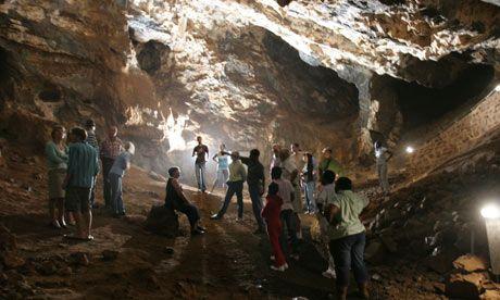 Sterkfontein Caves  (www.guardian.co.uk)