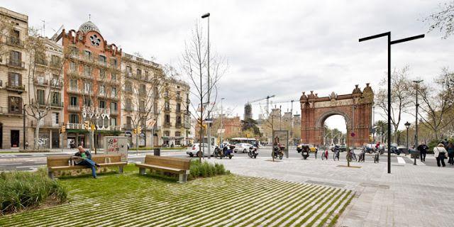 Lola Domènech > Remodelación del Passeig Sant Joan, Barcelona