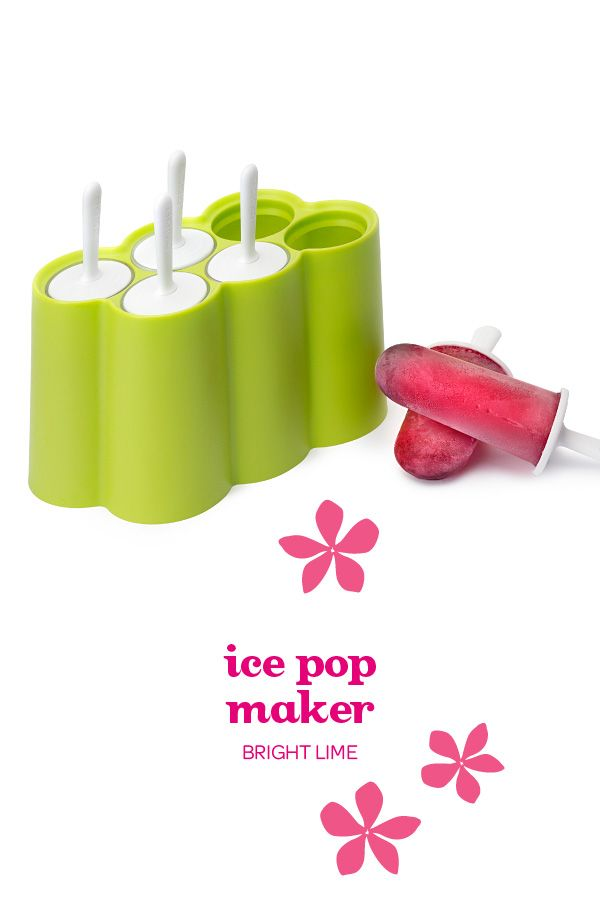 Freeze your favourite teas into ice pops for a tasty, healthy summer treat.