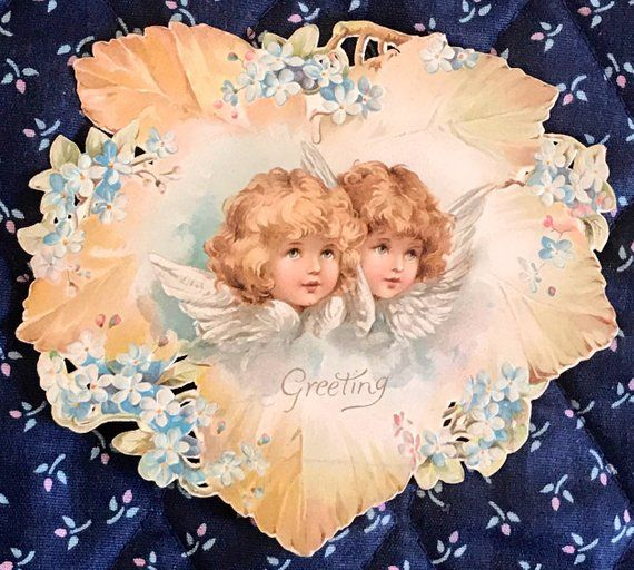 Pin On Antique Greeting Cards