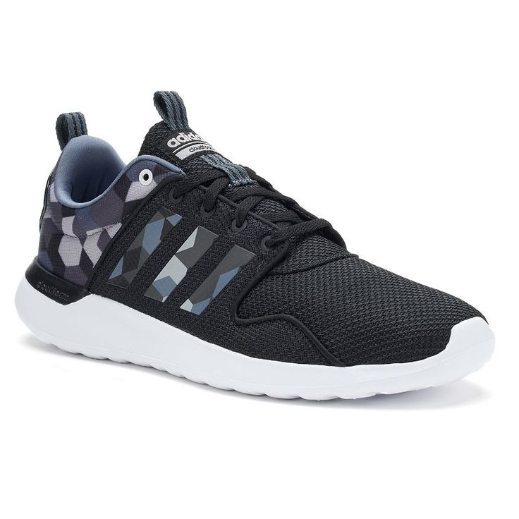 best service bc9e2 8dfb1 ... White Clear Onix AW4262 Adidas NEO Cloudfoam Lite Racer Men s Print  Shoes, Size  10, .