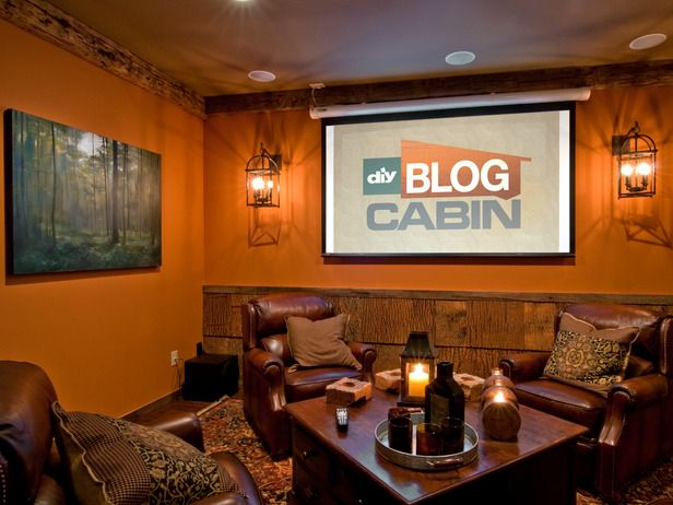 small man cave ideas | Man Cave Photos: DIY Blog Cabin 2009 : Blog Cabin : DIY Network