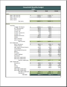 Family Budget Template DOWNLOAD at http://www.templateinn.com/11-family-monthly-budget-planner-templates/