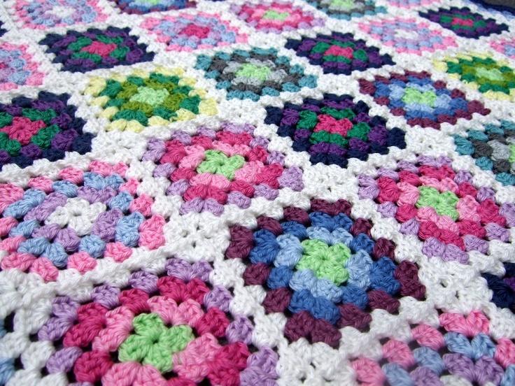 Mejores 35 imágenes de Crochet blanket en Pinterest | Mantas de ...