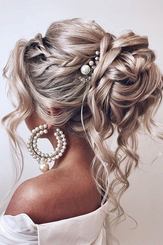 100 Long Wedding Hairstyle Ideas You Ll Love Medium Hair Styles Curly Hair Styles Medium Length Hair Styles